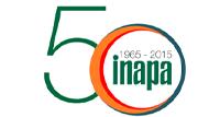 Logo dos 50 anos da Inapa